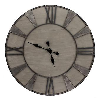 "32"" X 32"" Driftwood Clock"