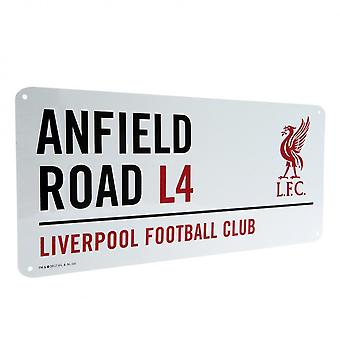 Liverpool FC Official Street Sign