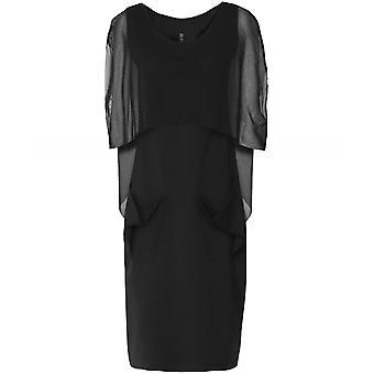 Xenia Design Borg Mesh Overlay Dress