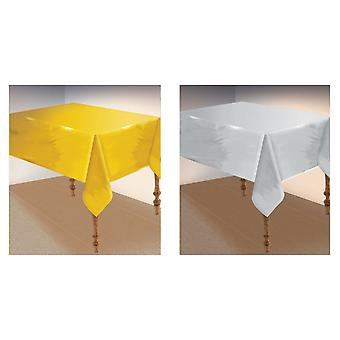 Bristol Novelty Metallic Table Cover