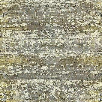 A.S. Creation AS Creation Rustic Abstract Vintage Horizontal Stripes Sand Beach Dunes Gold Grey Yellow Wallpaper