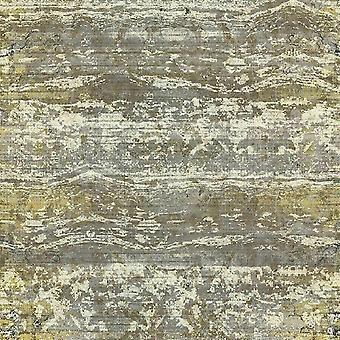 A.S. Criação AS Criação Rústica Resumo Vintage Listras Horizontais Areia Praia Dunas Ouro Cinza Papel de Parede Amarelo