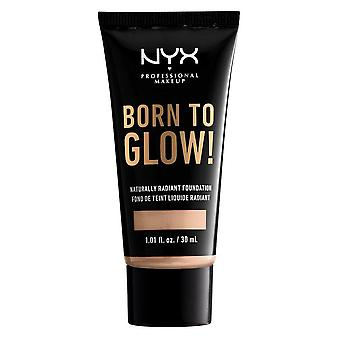 NYX Born To Glow Naturally Radiant Foundation 30ml - Light