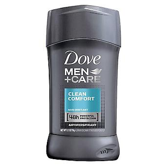 Dove men+care antiperspirant & deodorant, clean comfort, 2.7 oz