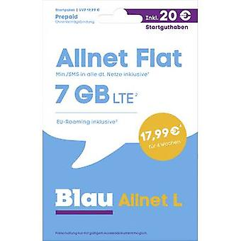 Blau.de Allnet L Startpaket Prepaid card (no contract)