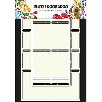 Hollanti Doobadoo Hollanti Card Art Stencil swing kortti 6 A4 470.713.308