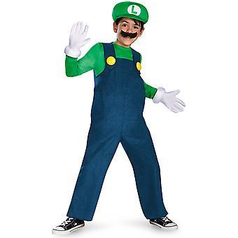 Déguisement Luigi Deluxe Enfant