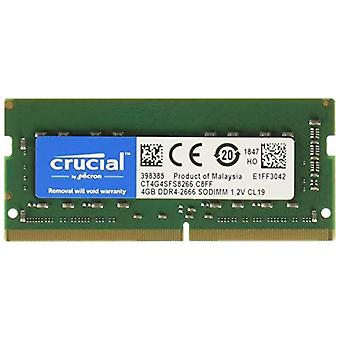 Crucial CT4G4SFS8266 memory 4 GB DDR4 2666 MHz