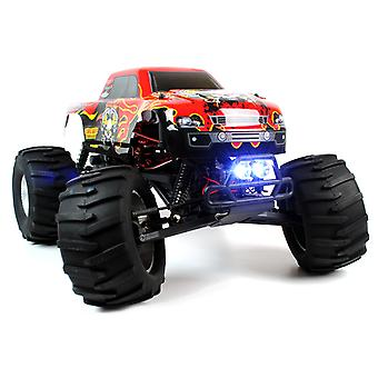 Circuit Thrash - 1:9 Scale RC Monster Truck with LED Lights - Brushless 2.4GHz Version