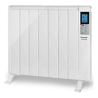 Digitale dry thermal electric radiator (7 kamer) Taurus Mandarijn 1500W Wit