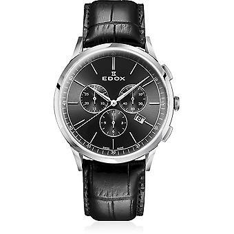 Edox - Wristwatch - Men - Les Vauberts - Chronograph - 10236 3C NIN