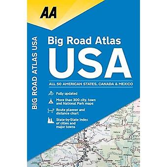 AA Big Road Atlas USA by AA Publishing - 9780749579968 Book