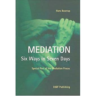 Mediation - Six Ways in Seven Days. Special Part of the Mediation Proc