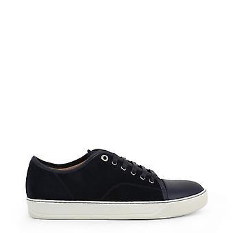 Lanvin Men Blue Sneakers -- FM-S082480