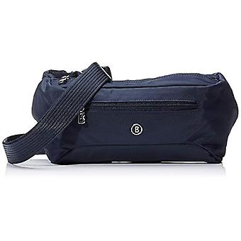 Bogner 4190000232 حقيبة الكتف النسائية الزرقاء (أزرق 402)) 10x14x30 سم (B x H x T)