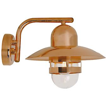 Nibe  -  Copper Hanging Outdoor Wall Light  - Nordlux 24981030