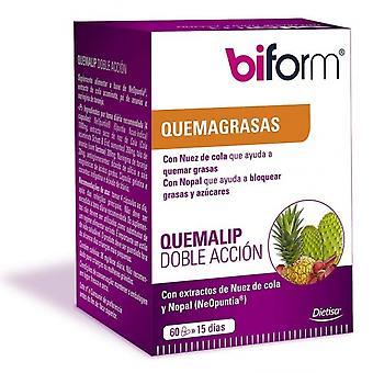 Biform Quemalip العمل المزدوج 60 كبسولات