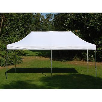 Vouwtent/Easy up tent FleXtents Steel 3x6m Wit