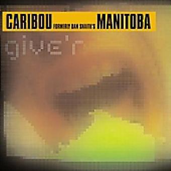 Manitoba - Give'R EP [CD] USA import