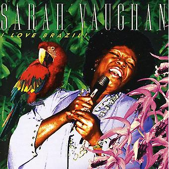Sarah Vaughan - I Love Brazil! [CD] USA import