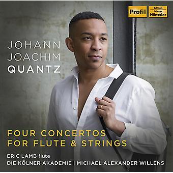 Quantz / Lamb - Four Concertos for Flute & Strings [CD] USA import