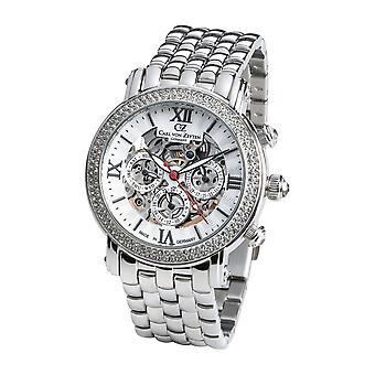 Carl von Zeyten Women's Watch Wristwatch Automatic Kniebis CVZ0062WHMB