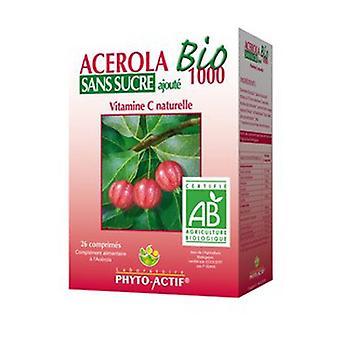 Acérola Bio 1000 Sans sucre ajouté 26 comprimés