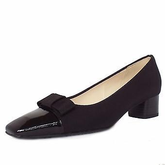 Peter Kaiser Beli Low Heel Court Shoes In Black