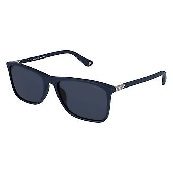Police Axiom 3 SPL972 0C03 Matte Blue/Blue Sunglasses