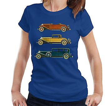 The Saturday Evening Post Classic Cars Women's T-Shirt