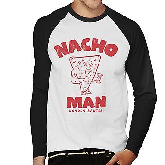 London Banter Nacho Man Men's Baseball Long Sleeved T-Shirt