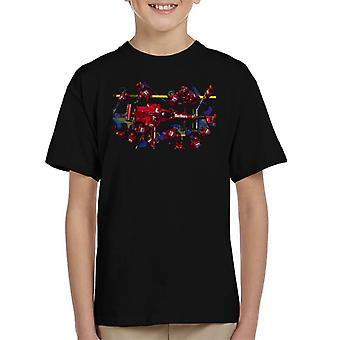 Motorsport Images Michael Schumacher 1997 Ferrari Pit Kid's T-Shirt