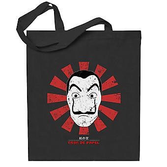 Casa De Papel Retro Japanese Totebag