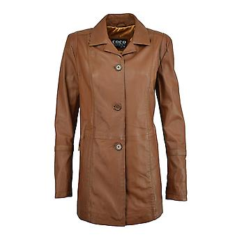 Women's Leather Short Coat Lisa