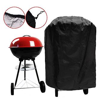Heavy Duty Waterproof Barbecue (BBQ) Storage Cover - Black