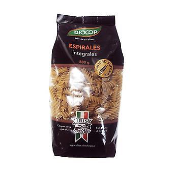 Organic Whole Wheat Spirals 500 g