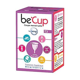 Menstrual cup becup Size 3 1 unit