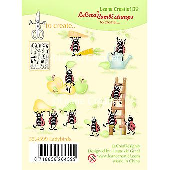 Leane Creatief Ladybugs Clear Stamp