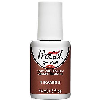 SuperNail ProGel Gel Nail Polish - Tiramisu 14ml