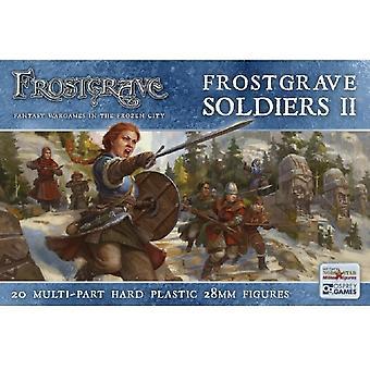 Frostgrave Soldiers II - Twenty 28mm hard plastic multipart figures