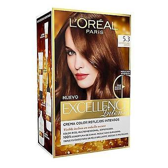 Permanent Dye Excellence Intensiv L & apos;Oreal Expert Professionnel Ljus gyllenbrun