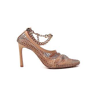 Bottega Veneta 618757vbps39717 Dames's Beige Leather Sandals