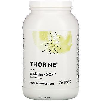 Thorne Research, MediClear-SGS, con sabor a vainilla, 34.4 oz (978 g)