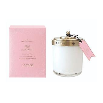 Mor Fragrant Candle 380G Rose And Patchouli
