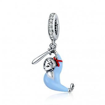 Sterling Silver Pendant Charm Mulan - 6749