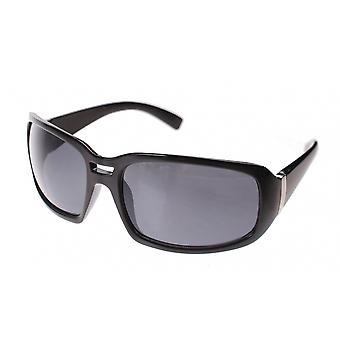 Sunglasses Unisex black with black lens (le2033)