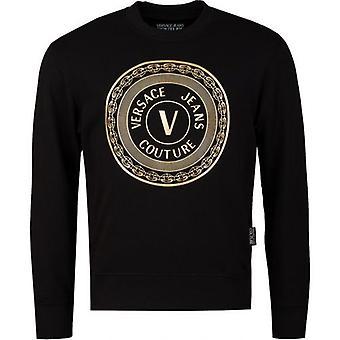 Versace Jeans Couture Cirkel Foil Crew Neck Svett