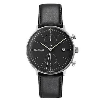 Junghans max bill Chronoscope Watch for Unisex 027/4601.00