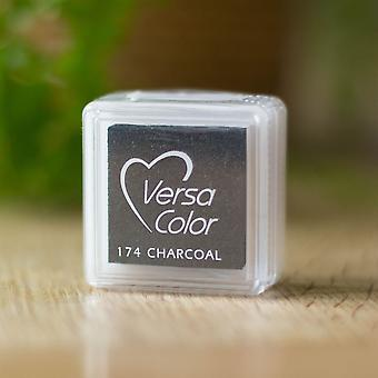 Versasmall Canary Charcoal Pigment Small Ink Pad Pigment Craft Ink