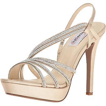 Dyeables, Inc Womens Women's Dahlia Platform Dress Sandal